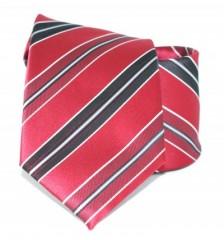 Goldenland nyakkendő - Piros-fekete csíkos