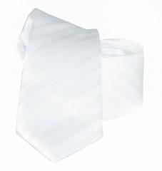 Goldenland slim nyakkendő - Fehér csíkos
