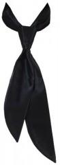Zsorzsett női nyakkendő - Fekete