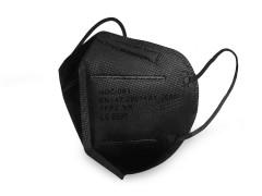 FFP2 szűrős egészségügyi maszk - Fekete Egészségügyi termékek