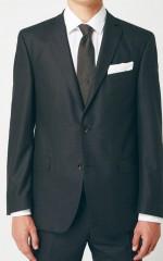 Walter gyapjús öltöny - Sötétszürke