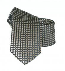 Goldenland slim nyakkendő - Arany pöttyös