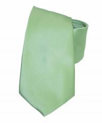 NM szatén nyakkendő - Halványzöld