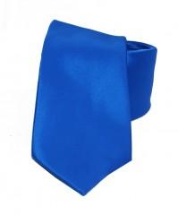 NM szatén nyakkendő - Királykék